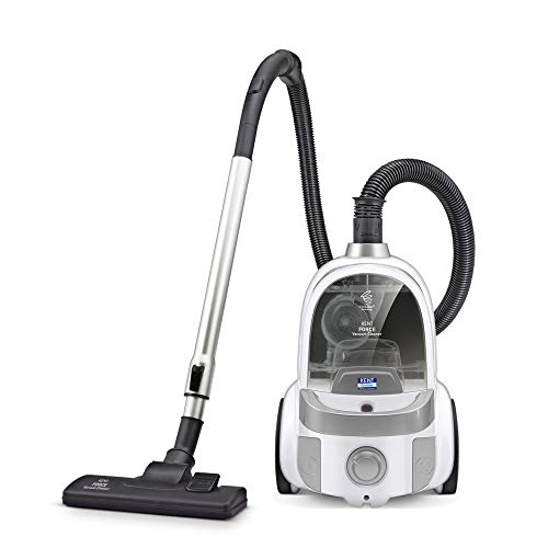 KENT Force Cyclonic Vacuum Cleaner  (White and Silver)