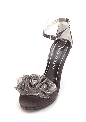Caparros Talons Jagger Suede Chaussures À Femmes Grey C8Bwq1C