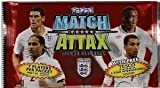 Topps 2010 World Cup Match Attax Soccer Cards TEN (10) Sealed 7-Card Foil Packs. (70 Cards Total)