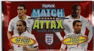 Topps 2010 World Cup Match Attax Soccer Cards TEN (10) Sealed 7-Card Foil Packs. (70 Cards Total) (World Cup 2010 Match)