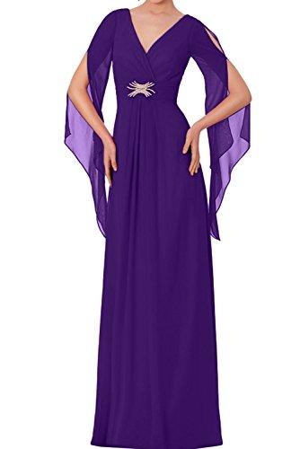 Ivydressing - Vestido - trapecio - para mujer morado 44
