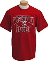 NCAA Wisconsin Badgers Colossus Short Sleeved T-Shirt