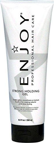 Enjoy Strong Holding Gel, 8.5 oz (Pack of 2)