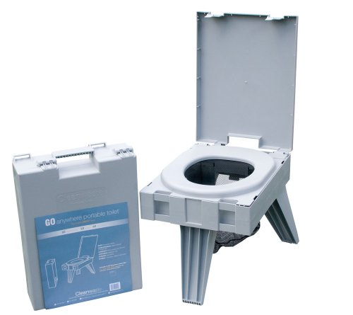 Cleanwaste Portable Toilet w/ 1 Waste Kit (D119PET)