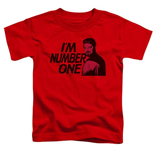 Star Trek Im Number One Little Boys Shirt Red SM (2T)