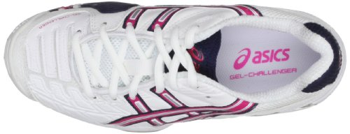 Asics - Zapatillas GEL CHALLENGER, tamaño 43,5 UK, color blanco Weiß (White/Magenta/Eclipse 0121) (Weiß (White/Magenta/Eclipse 0121))