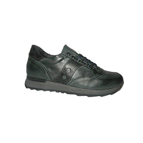 Bage - Made in Italy , Chaussures de ville à lacets pour homme gris gris