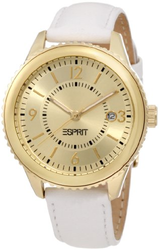 ESPRIT Women's ES105142003 Marin Eclipse Gold Analog - Esprit Watch Women Gold