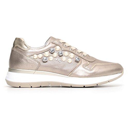 Nero Femme Bronze Giardini Sneakers Basses TTqCwFxp