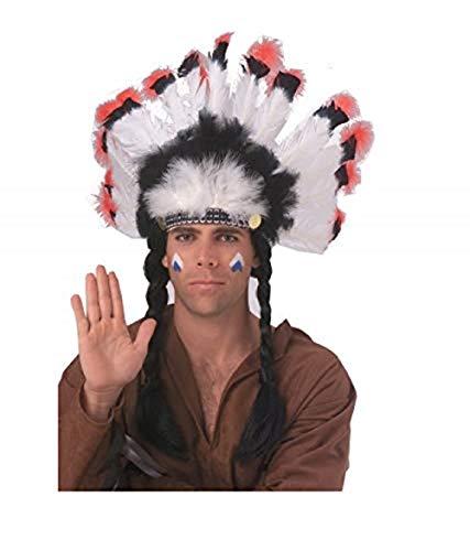 Rubie's Costume Co Deluxe Native American Headdress, 2 Pack