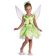 Disney Fairies Tinker Bell Costume (Girl's Toddler Children's Costume)
