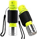Garberiel 2 Pack Scuba Diving Flashlight, Super