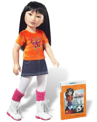 - Karito Kids Ling from China World Collection Doll/Book Starter Set