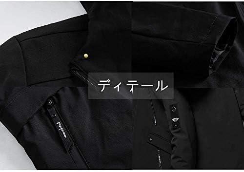 ジャケット ブルゾン メンズ コート フード付き 防風防寒 無地 カジュアル 軽量 アウトドア 秋冬春