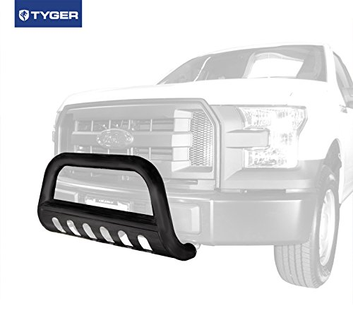 2005 Ford F150 Heritage Edition - Tyger Auto Premium 3inch Black Bull Bar Fits 2004-2017 Ford F150 (Excl. Heritage Edition); 2003-2017 Ford Expedition