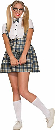Forum Novelties Women's 50's Nerd Girl Costume, Multi,