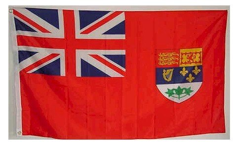 Canadian RED Ensign Flag 1922-1957