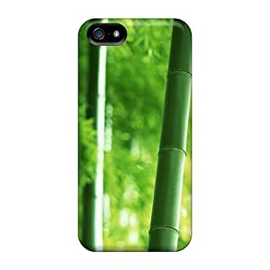 Iphone Cover Case - Landscape Bamboo Nature Protective Case Compatibel With Iphone 5/5s