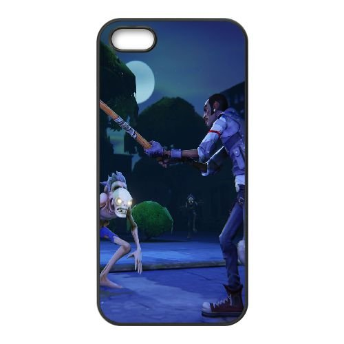 Fortnite 33 coque iPhone 5 5S Housse téléphone Noir de couverture de cas coque EOKXLLNCD09465