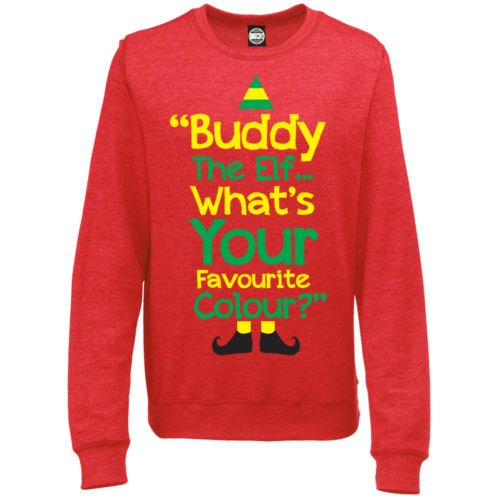 Unofficial Buddy The Elf Whats Your Favourite Colour Womens