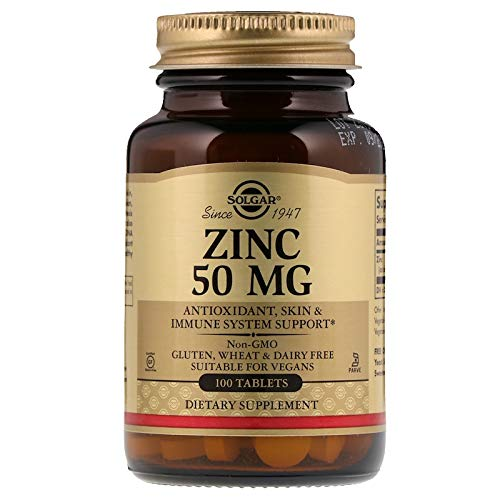 Solgar - Zinc 50 mg, 100 Tablets