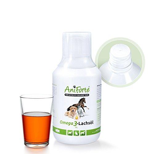 AniForte Omega 3-Lachsöl 250 ml - Naturprodukt für Hunde und Katzen