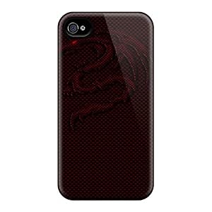 Excellent Design Carbon Dragon Case Cover For Iphone 4/4s