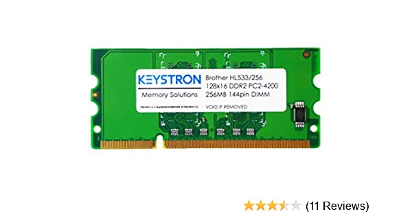 PARTS-QUICK BRAND HL-6180DWT 256MB DDR2 16bit 144pin Memory Module for Brother Printer HL-6180DW