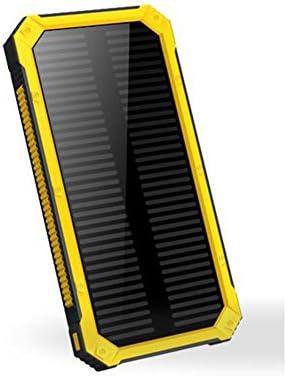 HUAN Cargador Solar Power Bank 10,000mAh - Cargador Solar ...