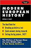 Modern European History 1st (first) edition Text Only