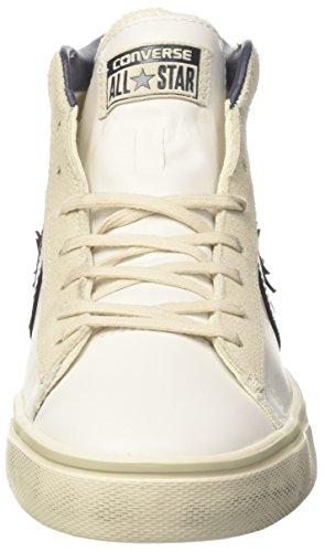 – Mid Collo Black Bianco Alto Turtledove Lthr Adulto Sneaker Converse Vulc 111 Unisex a White PRO H1WzwqUxYt