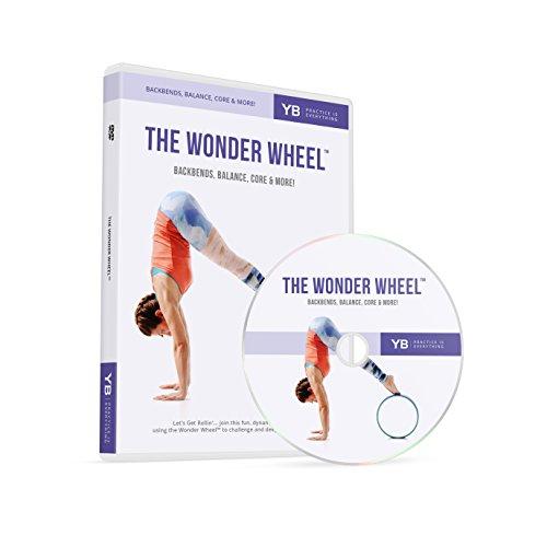 YOGABODY Yoga Wheel DVD | Wonder Wheel Flow by [Official] | Beginner's 60-Min Flow + PDF Pose Chart