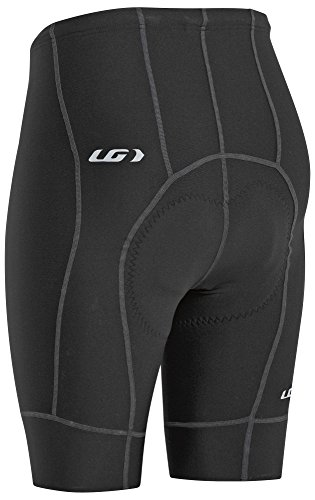 Louis Garneau Men's Fit Sensor 2 Padded, Breathable, Compression Bike Shorts, Black, Small by Louis Garneau (Image #1)