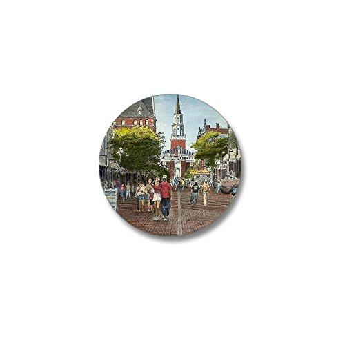 CafePress - ChurchStevenotecard Mini Button - 1