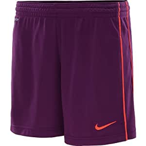 Nike Dri-Fit Women's Academy Knit Soccer Shorts - Size: X-Small, Grape/Crimson