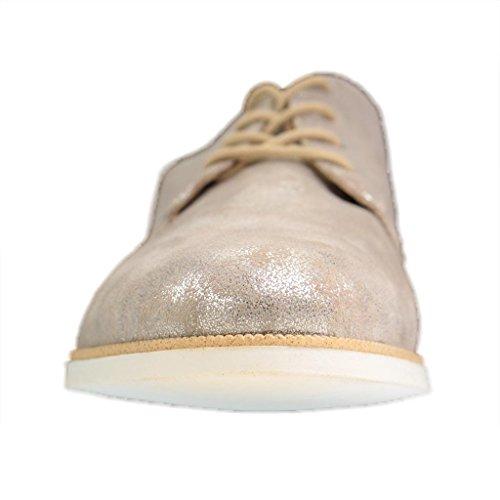 Remonte Damen Halbschuhe - Silber Schuhe in Übergrößen