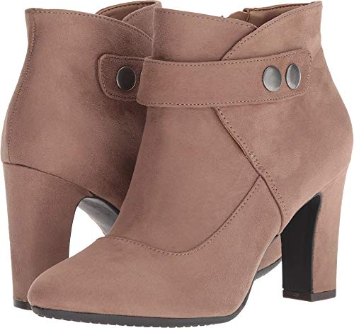 - Aerosoles Women's TAG Team Ankle Boot, Taupe Fabric Suede, 8.5 M US