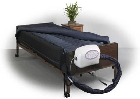 Drive Medical Lateral Rotation Mattress with on Demand Low Air Loss, 10