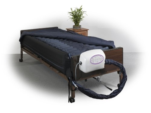 Demand Low Air - Drive Medical Lateral Rotation Mattress with on Demand Low Air Loss, 10