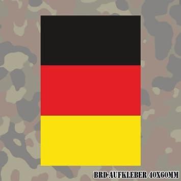 Copytec Aufklebersticker Deutschland Fahne Brd