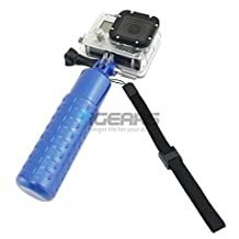 Antiskid Hand Grip Floating Handle Bar Mount Float For Gopro Hero 1 2 3 3+ Blue