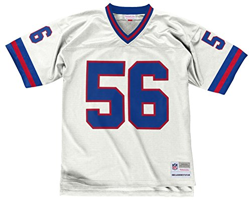 Nfl Mens Jerseys - Lawrence Taylor New York Giants Men's NFL Mitchell & Ness Premier White Jersey
