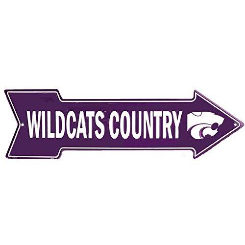 - Signs 4 Fun SA25015 Kansas State Wildcat Country, Arrow Sign