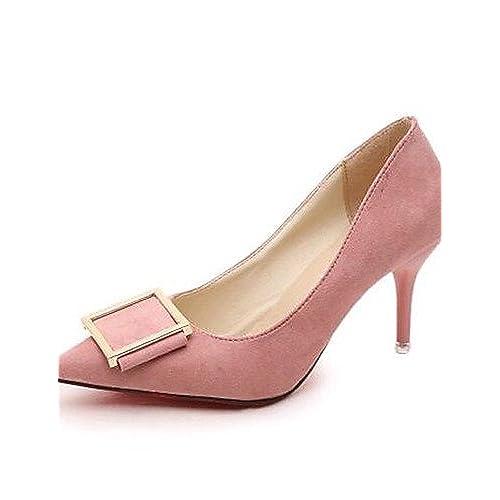 Ggx/femme Chaussures PU Printemps/été/automne/hiver talons/Bout Pointu talons Parti & Soir/robe Stiletto Talon