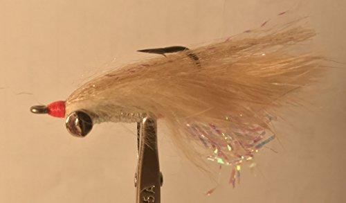 UMPQUA BONEFISH SCAMPI LEAD EYE TAN 4 - 6 PK (Umpqua Feather)