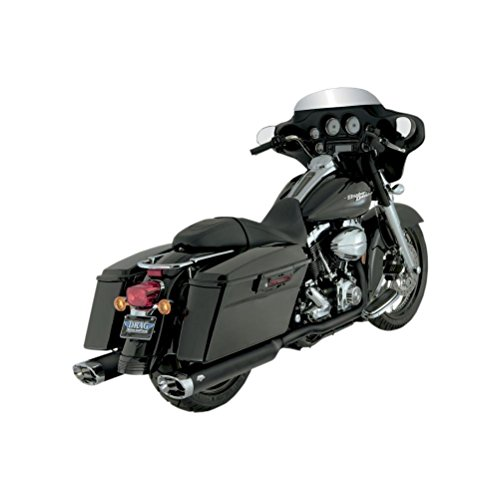 Pipes Dual Header - Vance and Hines Dresser Duals Header Pipe for Harley Davidson 1995-2008 Touring - One Size