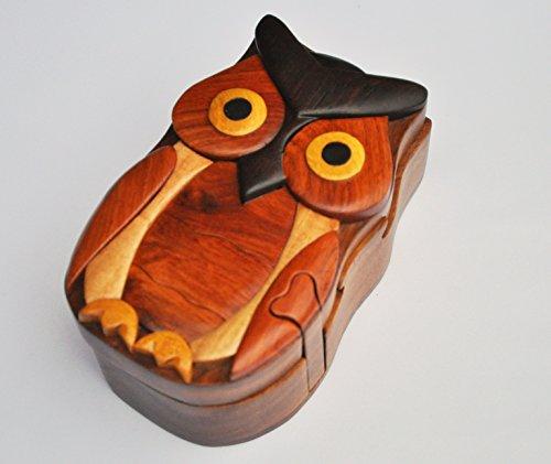 wood carved owl - 4