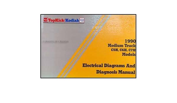 1990 chevy kodiak & gmc topkick wiring diagram manual original: gmc:  amazon com: books