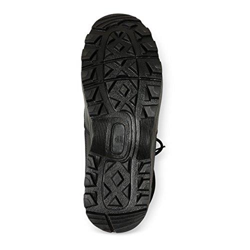 Kampfstiefel Tactical Security Boots, Security Stiefel, Lederstiefel, Einsatzstiefel, Obermaterial aus Leder/Nylon, Farbe: schwarz