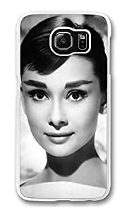 S6 Case, Galaxy S6 Case, Customize Beauty Audrey HepburnSamsung Galaxy S6 Hard Plastic Clear Case Protection Shockproof Case Cover for New Galaxy S6 2015